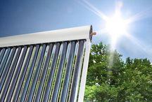 Solarthermie / Was braucht man für eine Solarthermie Anlage? Welche Komponenten sind wichtig und welche Möglichkeiten gibt es?  Hier werden konkrete Produkte vorgestellt aber auch einige Hinweise zur Installation gegeben.