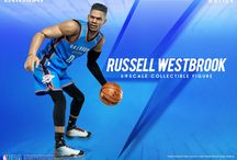 1:9 Scale Russell Westbrook / 1:9 Motion Master Pieces Russell Westbrook by ENTERBAY Official which invites you to experience the innovation of our officially licenced NBA & movie collectible figurines.