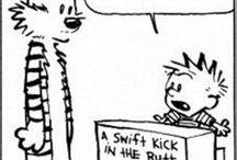 Calvin & Hobbes / by Annie Lemmerman