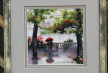 Cross Stitch Picture, Hand Embroidery