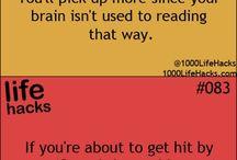 Tricks and Hacks ; )