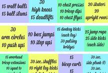 Me - workout ideas
