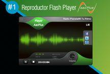 Reproductor Flash Player AACPlus #1 - PREMIUN ORIGINAL / Reproductor Flash Player AACPlus #1 PREMIUN ORIGINAL de alta calidad en AUDIO EN VIVO, compatible con todos los navegadores de internet. - www.surdatanet.net - www.moqueguahost.com - www.surdatacenter.com