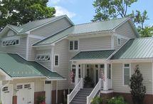 Classic Green Metal Roof
