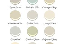LOVE these paint colors from Benjamin Moore