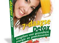 eBooks & eCursussen / Detox, Sappen, Sapvasten, Super Voeding, Paleo, Gezonde Recepten, Zonder E-nummers