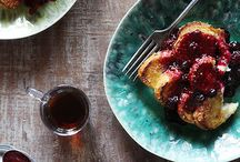 Bonjour / Breakfast ideas
