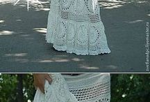 Crochet skirt / crochet skirt, long skirt, maxi skirt, knit skirt, knitting, crochet clothes, handmade