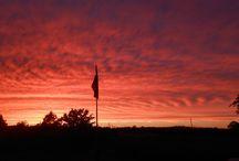 Oklahoma Sunrise ~ Sunset / Oklahoma sunrises & sunsets