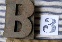 {INSPIRATION} The Letter B & Type / by Belle & Bunty