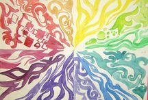colorwheels / by Beverly Teran