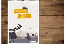 Kalender / Ob Geburtstag oder Termine, unsere Kalender bieten Platz für alle wichtigen Anlässe. So werden auch nervige Termine erträglich.