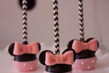 Cake Pops Minnie