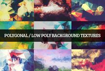 Backgrounds and Textures / Resources for Photoshop, After Effects, web/graphic design, etc. anywhere a good texture or background is needed.