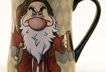 mug / Canecas, personagens, cute, coffe