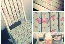 decoupage on furniture