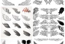 tatoo angelwings