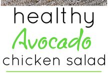 Avocado Chicken Salads