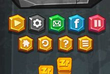 Casual game UI