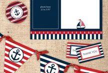 sailor baby shower