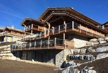 Plans Les Fermes de la Delege Chalet C in Crans-Montana / Floors Plan - Les Fermes de la Delege, Luxury Chalet for sale in Crans-Montana, Switzerland