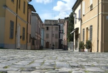 Cesenatico: the old-town centre