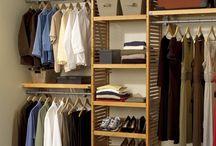 открытые гардеробные