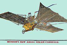 flying machines / des machines volantes
