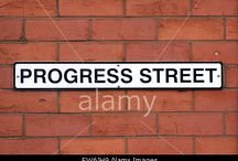 Street Names & Signs