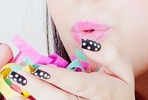 make up, nails, hair