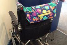 tassen voor rollator of rolstoel