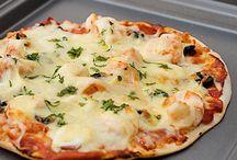 Πίτσα με λίγες θερμίδες / Φτιάξτε στα γρήγορα και...με λίγες θερμίδες!