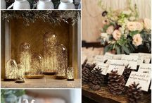 Winter Weddings / From cakes to invites and flower arrangements, here you can find all the inspiration for your dream winter wedding!