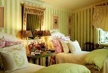 bedrooms / by Rachel Downs