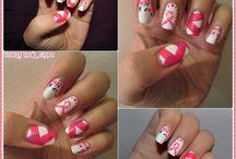 Nail art à thème / nail art sur thème précis
