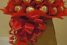 kytičky z bonbonů