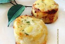 Patatas parmesanas