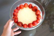 Receitas  ♥ Sobremesa / Inspirações e Sugestões de Receitas de sobremesas práticas e fáceis compartilhadas no Vida de Casada