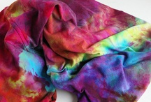 To Dye For / Hand dyed gorgeousness I have made OR which I admire / by Beneath the Rowan Tree