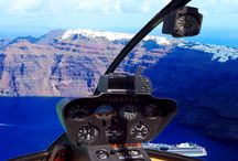 Helicopter Tour of Santorini Sighteeing 15 minutes / Santorini, Cyclades Islands