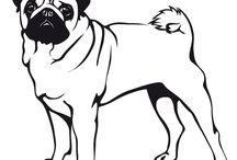 Desenhos do cão