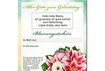 Blumen Online Gutscheine / Gutscheine für Blumen und Präsente unter http://blumen-verschenken.eu/blumen-online-gutschein/