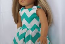 "American Dolls / Doll clothes, patterns, ideas for American Dolls and 18"" dolls of other brands."