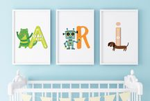Bebek Odası poster fikirleri