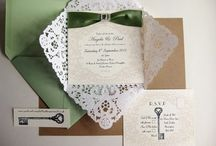 Weddings - Pretty Invitations & Stationary / by Killashee