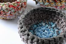 Fabric baskets / by Jeannie Overman Incognitos