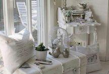 weiße Romantik - Einrichtungsstil
