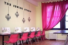 <Sewing Studio Ideas> / Ideas for your favorite space.  / by Sew Sweet Quilt Shop