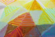 Väri / Maalauksia, valokuvia ja teoksia joissa väri on etusijalla.
