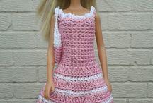 heklet barbieklær